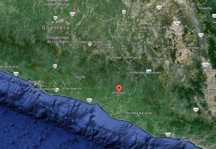 El crimen en contra del exalcalde priista de Igualapa, Orlando Hesiquiio, ocurrió en Ometepec. (Google Maps)