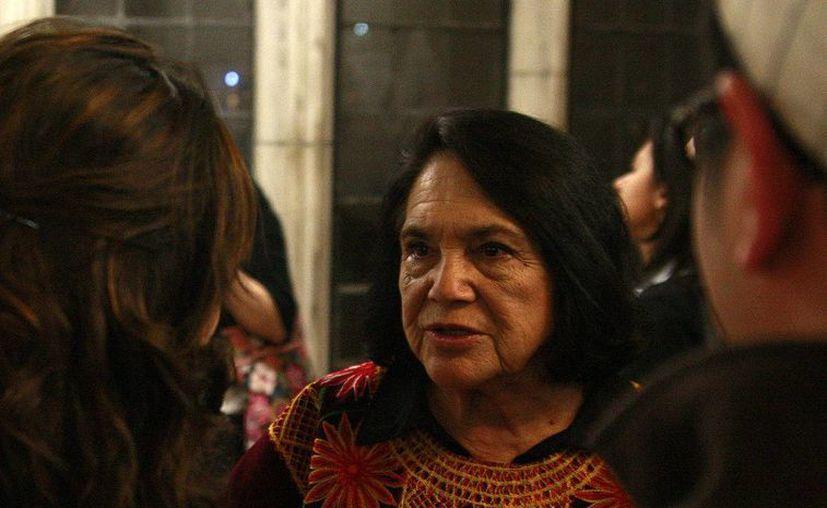 Dolores Huerta ha dedicado su vida a las causas de la justicia social. (nellybabesz15.wix.com)