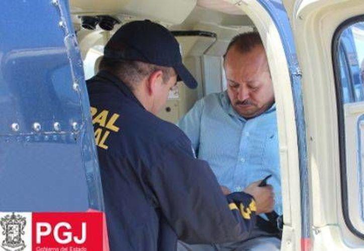 El líder transportista de Michoacán fue relacionado con La Tuta. (Milenio)