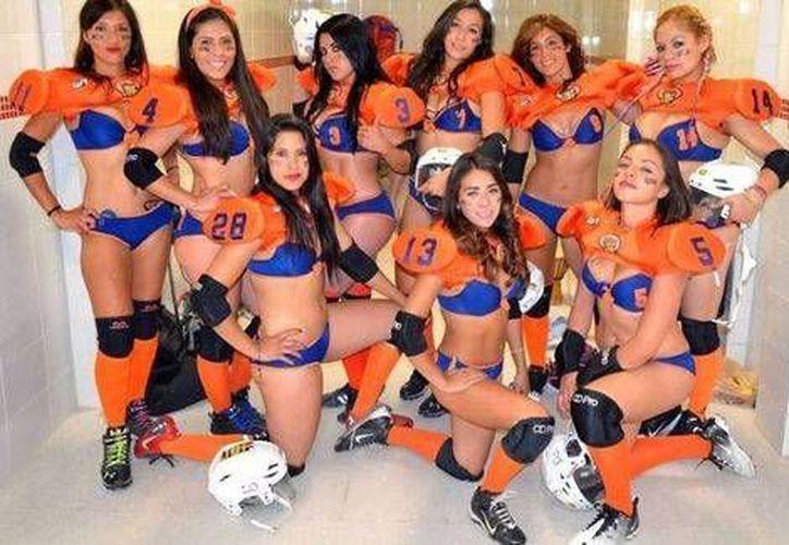 La Liga Iberoamericana de Bikini Football ha incrementado su popularidad en los últimos años. (LIBF)