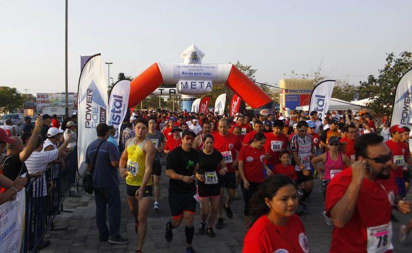 La carrera fue organizada por el  Instituto del Deporte de Yucatán. (SIPSE)