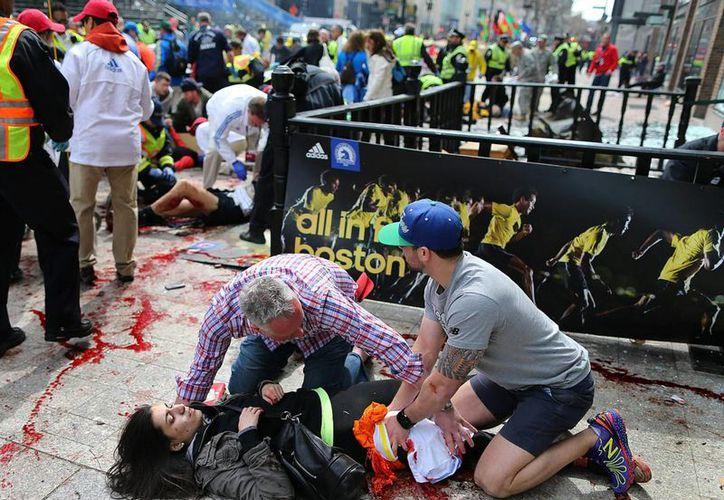 El pasado 15 de abril estallaron dos bombas en la meta final del Maratón de Boston causando 3 muertos y varios heridos. (Notimex)