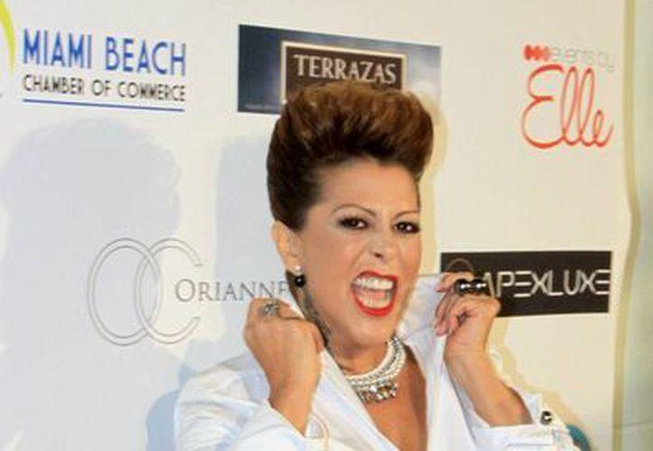 Alejandra Guzmán podría ser una de las cantantes que participe en el mega concierto que se celebrará en el marco de la marcha de la comunidad Lésbico, Gay, Bisexual y Transexual, en junio próximo. (Archivo Notimex)