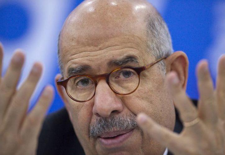 El Baradei llevaba en el cargo desde el pasado 14 de julio. (EFE)