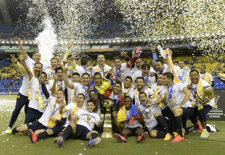 Águilas del América conquistó el campeonato de la Concachampions y fue protagonista en los demás torneos durante 2016.(Archivo/AP)