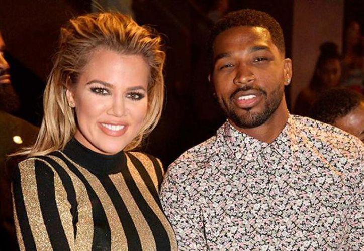 Kardashian y Thompson llevan juntos dos años, y esperan un bebé. (Foto: Contexto)