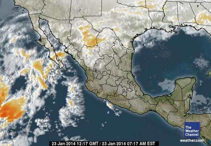 Los remanentes del frente frío número 29, sobre la Península de Yucatán, provocarán clima fresco con nubosidad dispersa en Quintana Roo. (Foto/espanol.weather.com)