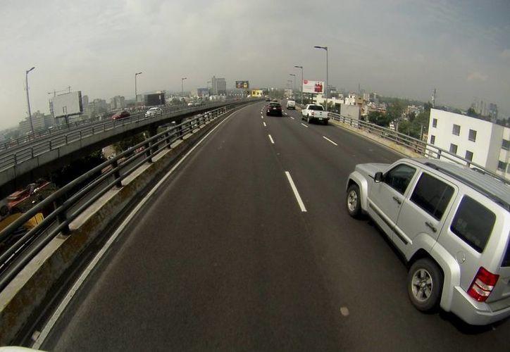 Este sábado se registró poco tráfico debido al doble Hoy no circula. (Notimex)