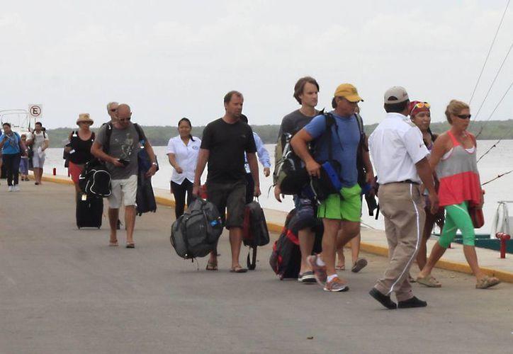 Tan sólo en el primer trimestre del 2013, Quintana Roo registró la presencia de cuatro millones 850 mil 327 visitantes. (Harold Alcocer/SIPSE)
