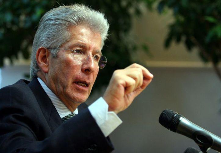 Gerardo Ruiz Esparza señaló que este proyecto requerirá una inversión importante y será complejo. (Agencia Reforma)