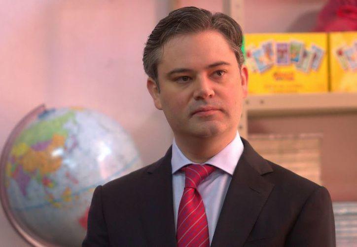Aurelio Nuño, titular de la SEP, afirma que los profesores tienen derecho a manifestarse, pero sin afectar a los estudiantes. (Notimex/Archivo)