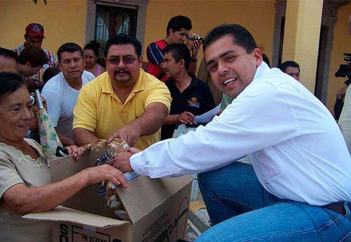José Luis Madrigal, exalcalde de Numarán, está tras las rejas, acusado de tener nexos con la delincuencia organizada. (excelsior.com.mx)