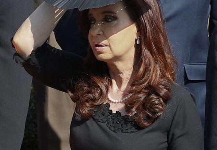 """La presidenta Cristina Fernández calificó el avance como """"histórico"""". (Agencias)"""