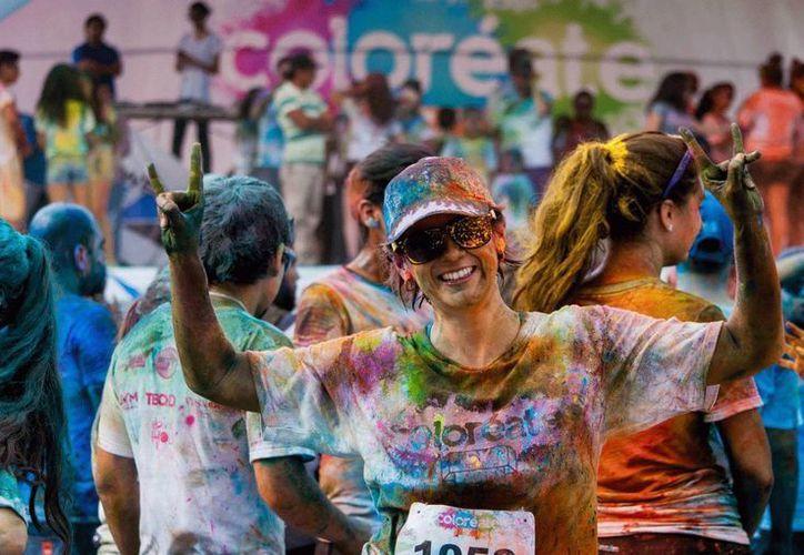 Coloréate 5K y Novedades Quintana Roo se declaran listos para la carrera pedestre más colorida de tu vida. (Redacción/SIPSE)