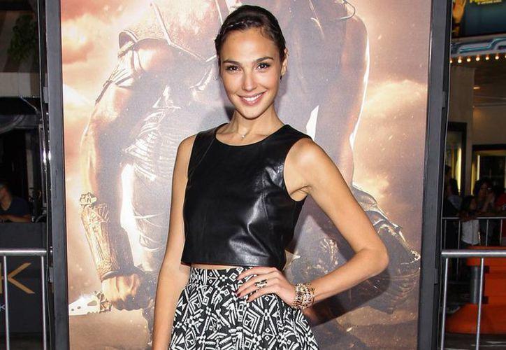 La actriz nacida en Israel Gal Gadot fue seleccionada para interpretar a la Mujer Maravilla. (Agencias)