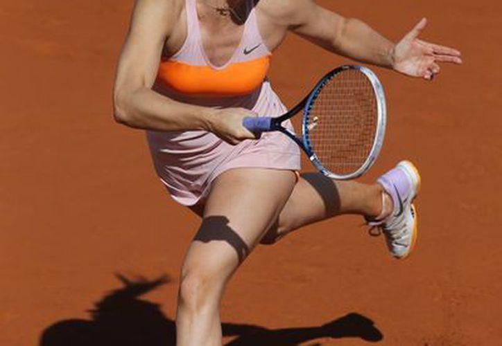 Sharapova ganó la final del Abierto de Francia 2012 y perdió la del año pasado ante Serena Williams. (Foto: AP)
