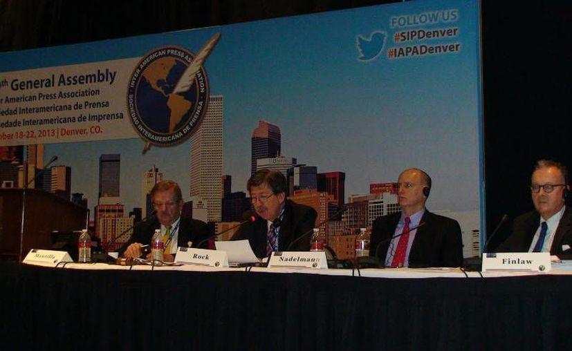 Al concluir este martes la 69 Asamblea General de la SIP, se hizo un recuento de la situación de la prensa en el continente. (www.sipdenver.org.)