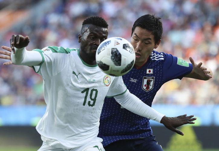 Japón, empatado en todo con Senegal, avanzó a octavos por menos tarjetas recibidas (Foto archivo AP)