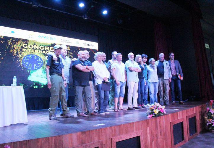 Ayer concluyó el Primer Congreso Internacional Gran Acuífero Maya que se realizó desde el pasado jueves en Playa del Carmen. (Octavio Martínez).