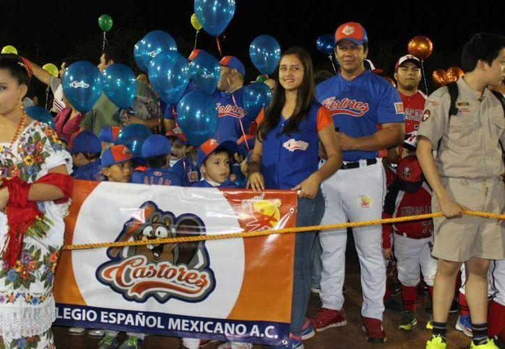 Este viernes fue inaugurada la edición 91 de la Liga Yucatán de Beisbol. (Marco Moreno/Milenio Novedades)