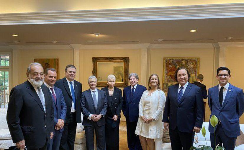 Estos son los empresarios mexicanos invitados a la cena en honor del presidente AMLO. (Foto: twitter).
