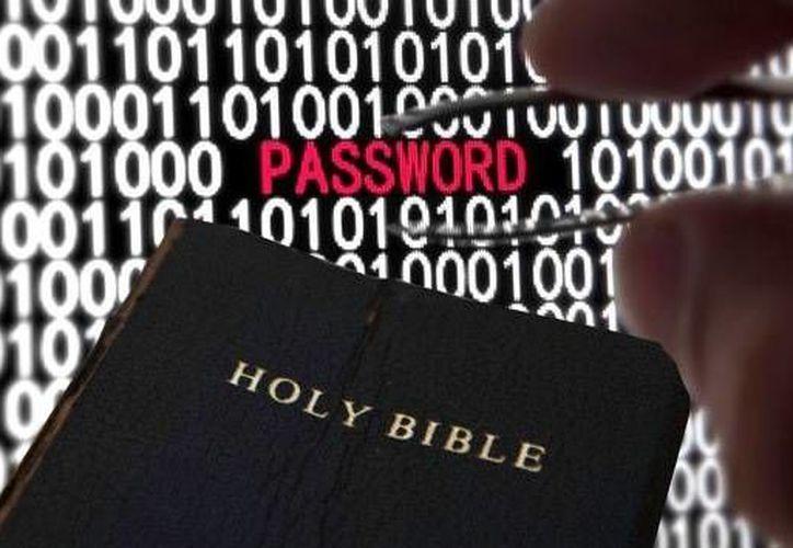 Muchas contraseñas de internet parten de referencias bíblicas. (Agencias)