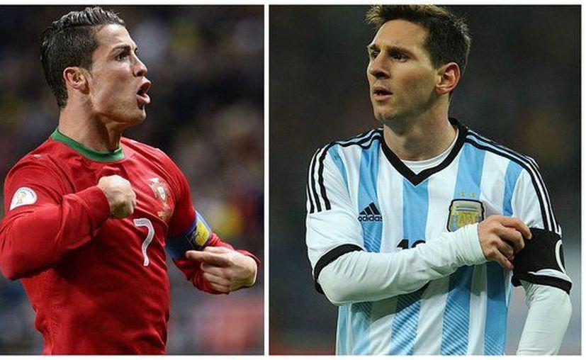 Cristiano Ronaldo muy pocas veces falla penales, pero esta vez le tocó, igual que a Messi (Foto: diariocorreo.pe)