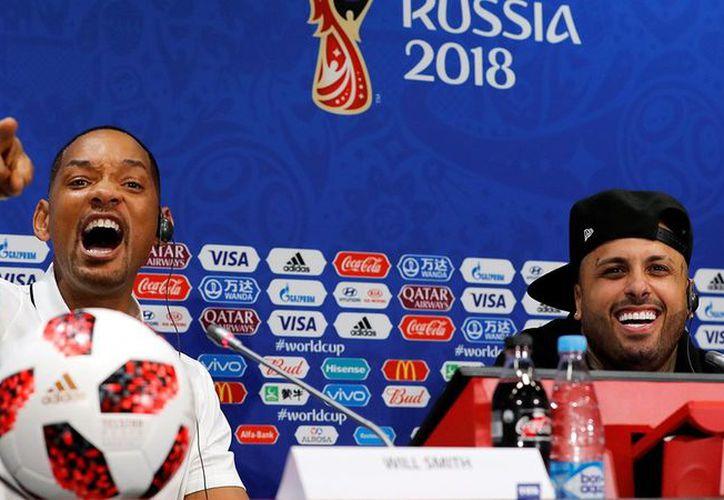 Will Smith prefirió no calificar al jugador brasileño. (Twitter)