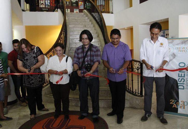 Inauguran la Semana del Diseñador Gráfico, en la Universidad del Sur. (Tomás Álvarez/SIPSE)