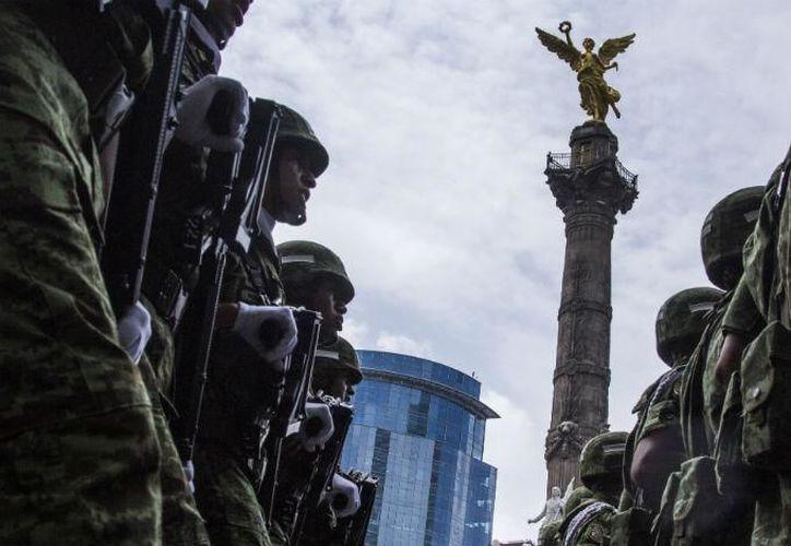 El Ejército es una de las pocas instituciones con un nivel de confianza alto. (Dinero e Imagen)