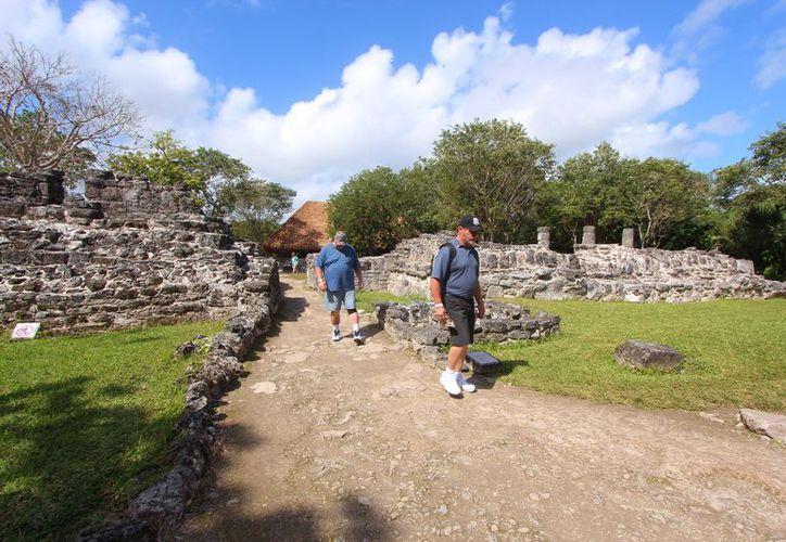 Para captar mayor turismo se ampliará el horario de atención  de San Gervasio. (Gustavo Villegas/SIPSE)