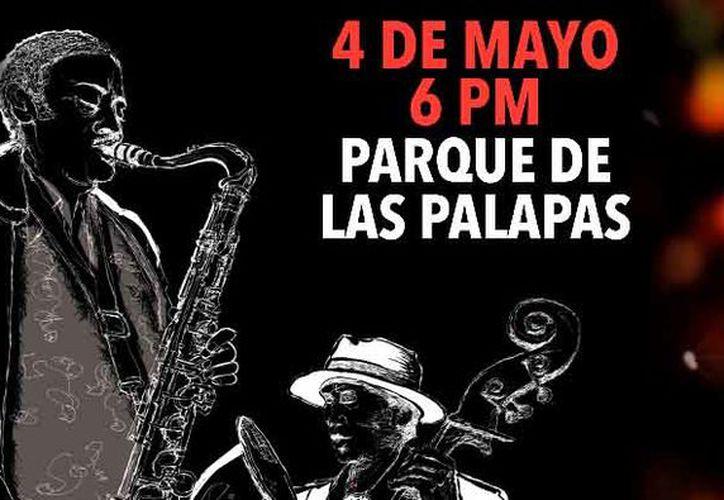 Las presentaciones serán en el parque de Las Palapas. (Jocelyn Díaz/SIPSE)