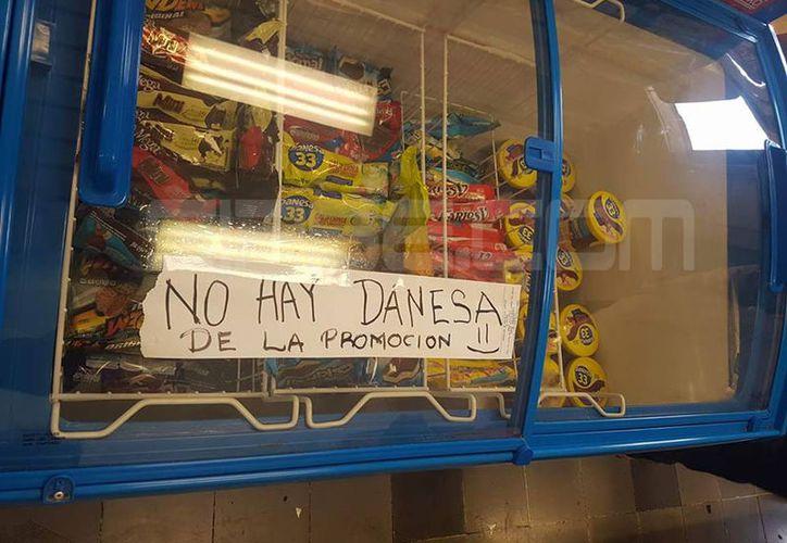 Imagen de un aparador de esta famosa tienda. (SIPSE.com)