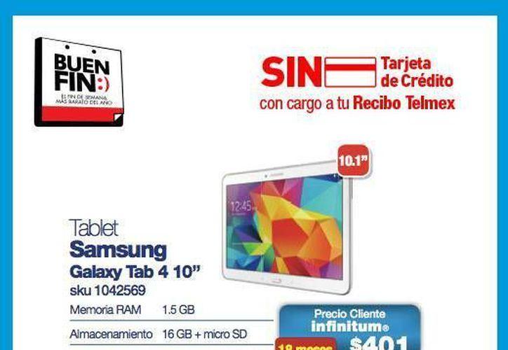 Telmex deberá facturar por separado la compra de productos como tabletas y computadoras. (Facebook/Telmex)