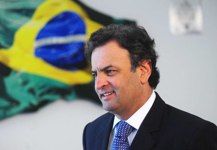 Aécio Neves fue diputado federal por Minais Gerais, estado donde nació y fue gobernador en dos periodos. (Agencias)