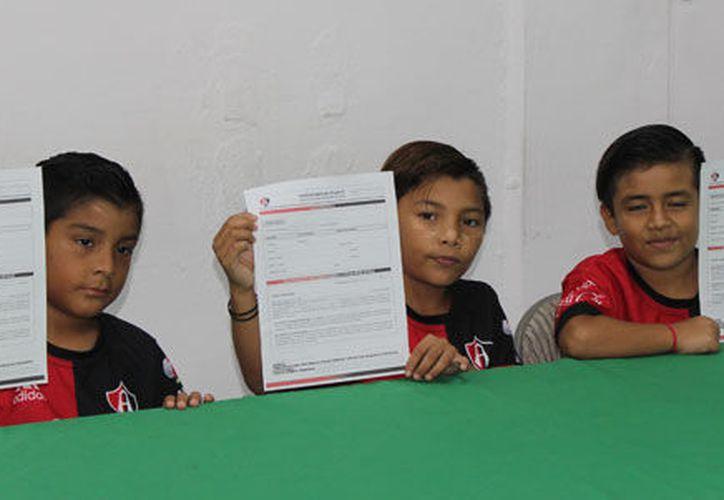 La escuela rojinegra en Yucatán es una de las más reconocidas por su potencial para la búsqueda de talento infantil. (Milenio Novedades)