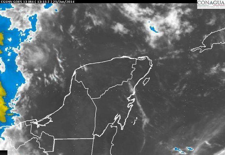 La entrada de humedad del mar Caribe propiciará vientos fuertes en Quintana Roo. (Redacción/SIPSE)