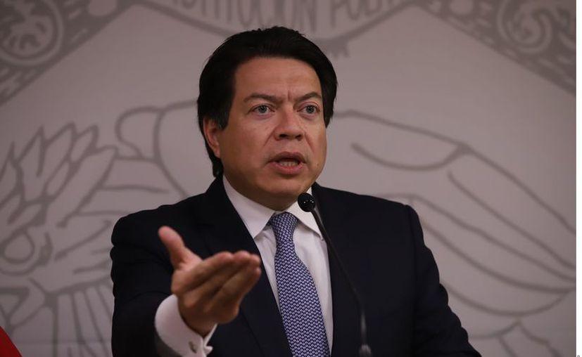 El morenista Mario Delgado dijo que formarán grupos de trabajo en parlamento abierto. (Agencia Reforma)
