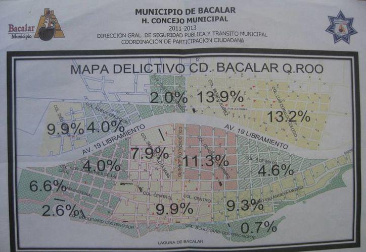 Las colonias Benito Juárez y Luis Donaldo Colosio, son las que presentan mayor índice delictivo. (Javier Ortíz/SIPSE)