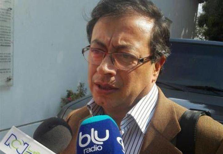 Gustavo Petro, ex alcalde de Bogotá, no terminó el doctorado porque se peleó con su maestro. (Foto: www.bluradio.com)