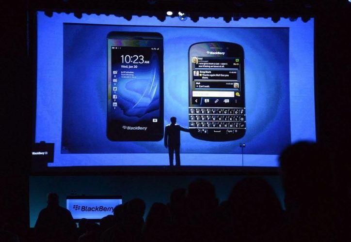 El nuevo sistema de Blackberry se lanzó en diciembre. (Agencias)