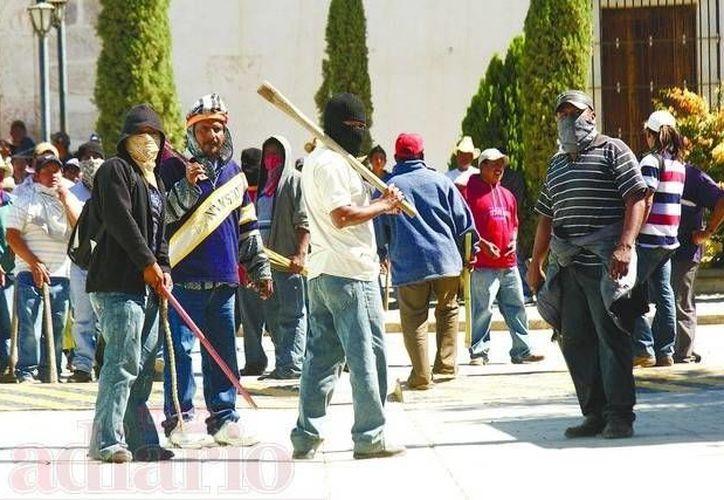 Indígenas chiapanecos hicieron justicia con su propia mano. (Archivo SIPSE)