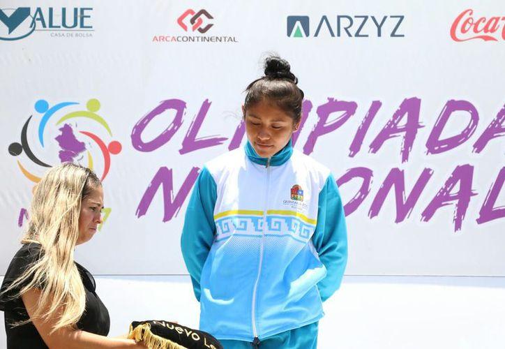 Briseida Domínguez puso en todo lo alto el nombre de Quintana Roo. (Raúl Caballero/SIPSE)