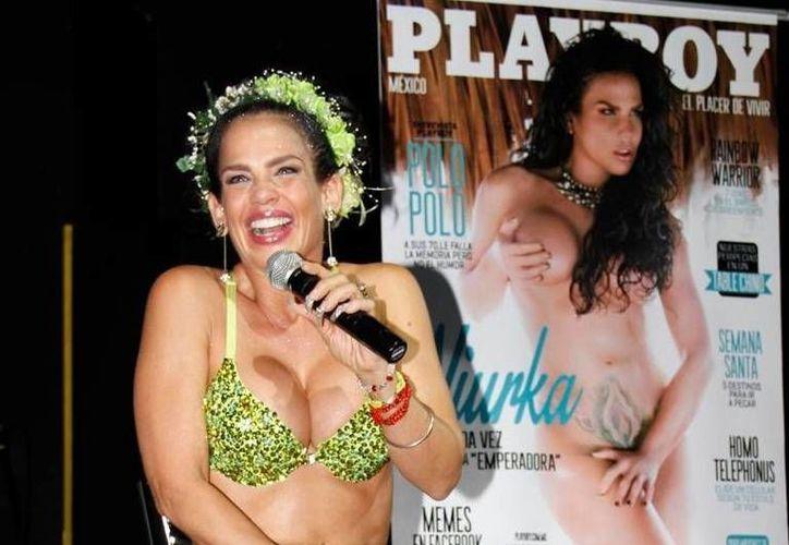 La actriz confesó que fue ella quien eligió las playas de Tulum para crear un retrato perfecto. (Agencias)