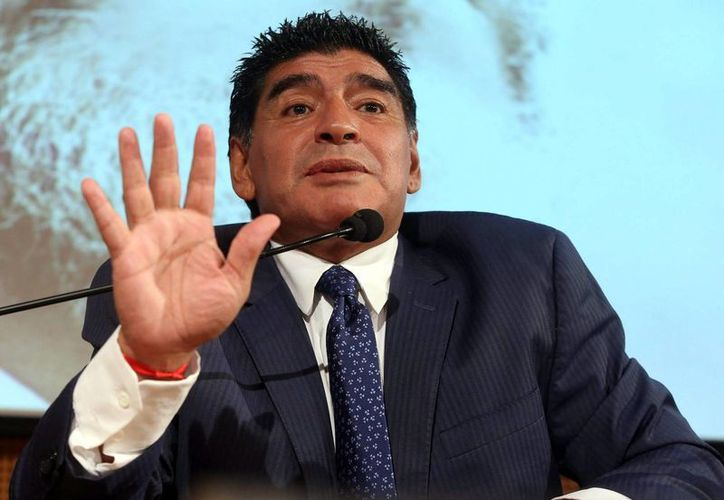 Diego Maradona opinó que Argentina no jugó a nada en Brasil.(Foto:EFE)