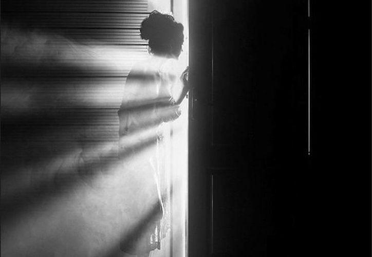 Nadie imaginaba quién era la persona que estaba detrás de la puerta. (Jorge Moreno/SIPSE)