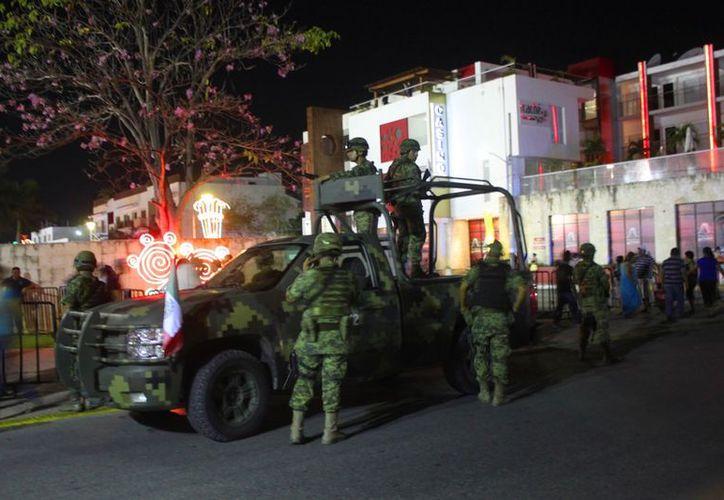 Diferentes grupos de seguridad garantizarán la tranquilidad durante los festejos. (Daniel Pacheco/SIPSE)
