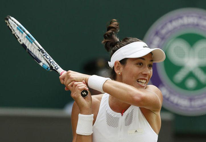 Muguruza fue finalista en Wimbledon hace dos años. (Foto: AP)