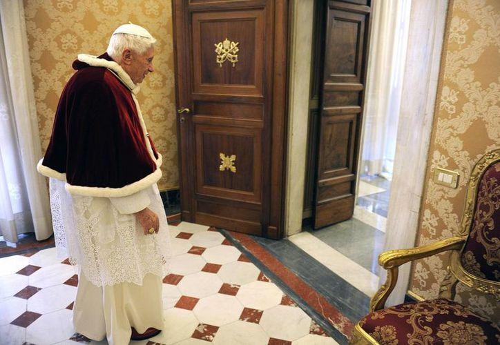 Josep Ratzinger abandonará el trono de San Pedro el 28 de febrero próximo. (Agencias)