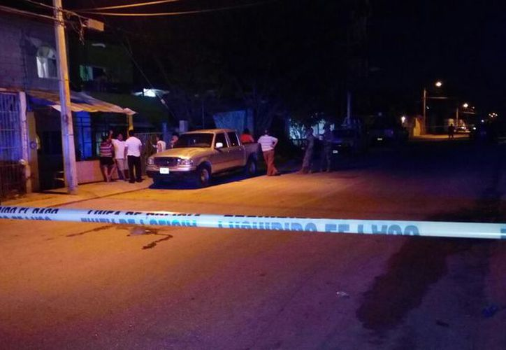 Al lugar acudieron elementos de la Policía Municipal y Ejército Mexicano. (SIPSE)